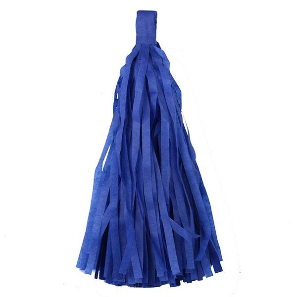 Помпон Кисточка Тассел 35 х 25 см темно-синий 10 листов