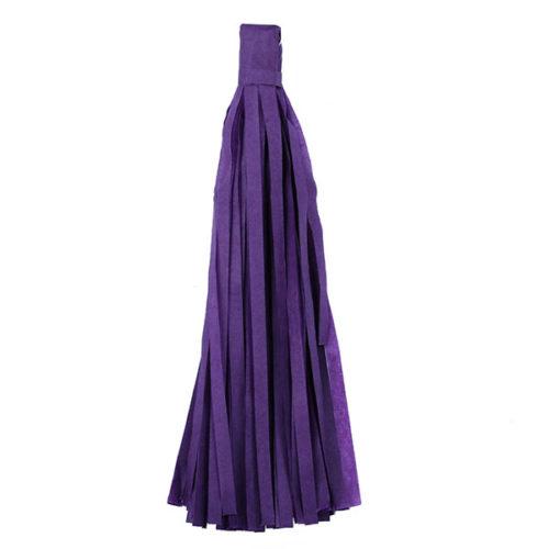 Помпон Кисточка Тассел 35 х 25 см фиолетовый 10 листов