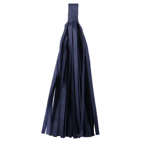 Помпон Кисточка Тассел 35 х 25 см черный 10 листов