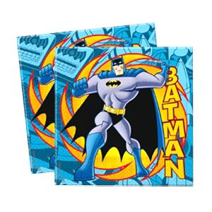 Салфетки 33см X 33см Бэтмен 20 шт