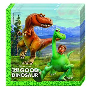 Салфетки 33 см X 33 см Хороший Динозавр 20 шт