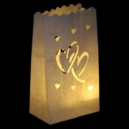 Светящийся пакет 26 х 9 х 15 Любовь сердцаСветящийся пакет 26 х 9 х 15 Любовь сердца