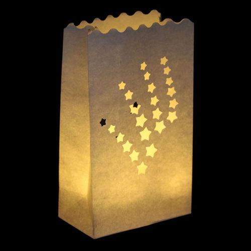 Светящийся пакет 26 х 9 х 15 Салют