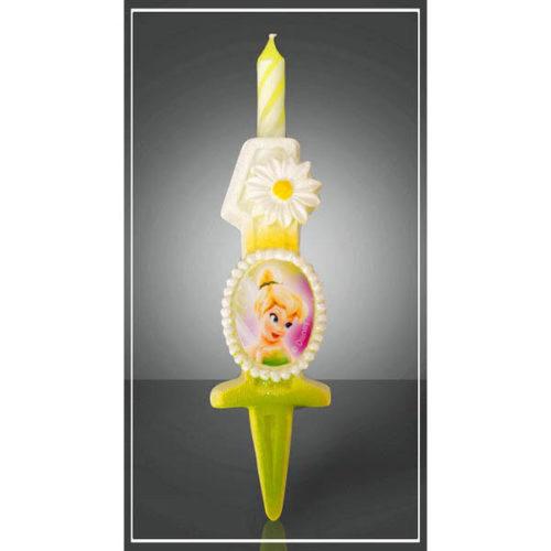 Свеча Цифра 1 Disney Фея 12,5 см
