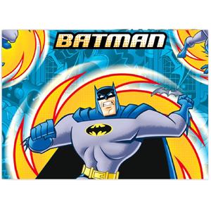 Скатерть полиэтиленовая Бэтмен 120 см х 180 см