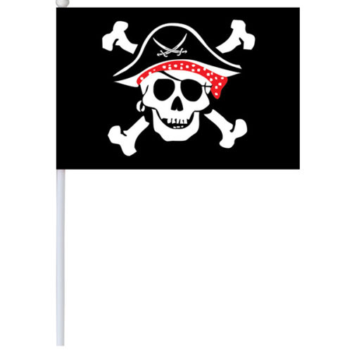 Флаг Пират 14 х 20 см
