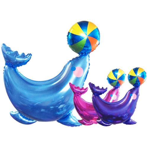 Шар 41 см Мини-фигура Морской котик Фуше