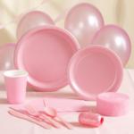 Коллекция Без рисунка Нежно-Розовый