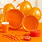 Коллекция Без рисунка Оранжевый