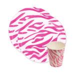 Коллекция Окрас зебры Розовый
