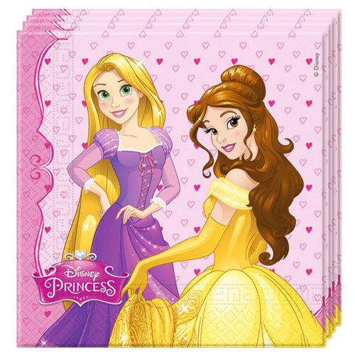 Салфетки 33 х 33 см Принцессы Disney 20 штук