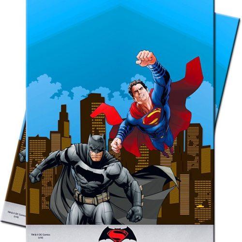 Скатерь п-э 120 х 180 см Бэтмен против Супермена