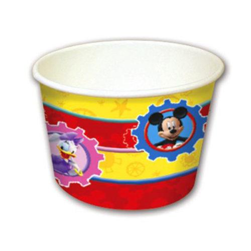 Стаканчики для мороженого Игривый Микки Маус 8 штукСтаканчики для мороженого Игривый Микки Маус 8 штук