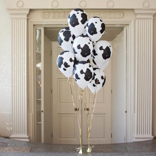 Фонтан из 7 шаров Пятна коровы