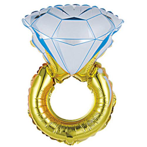 Шар 41 см Мини-фигура Кольцо с бриллиантом