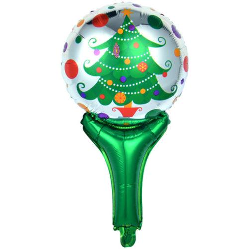 Шар 51 см Мини-фигура Новогодняя елка