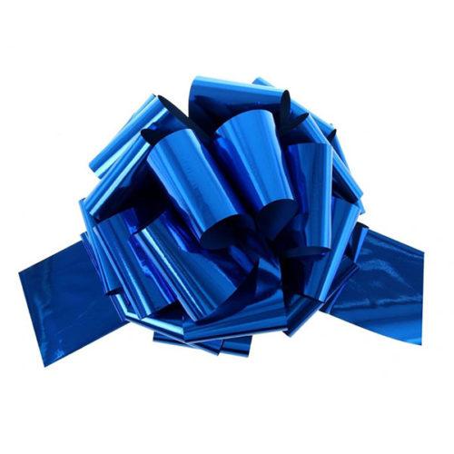 Бант Шар металлик Синий 17 см 20 шт