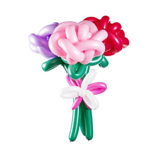 Букет из 3 роз из воздушных шаров