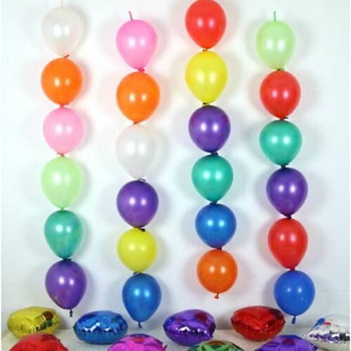 Вертикальные гирлянды из шаров Разноцветное ассорти