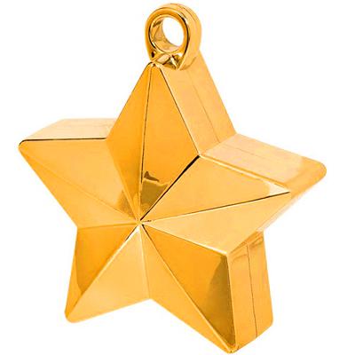 Грузик Звезда оранжевая 170 граммов