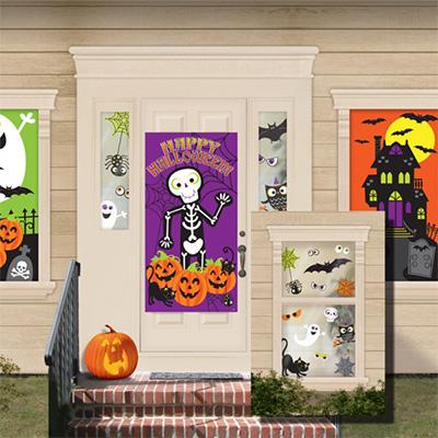 Декор-комплект Забавный Хэллоуин 30 деталей