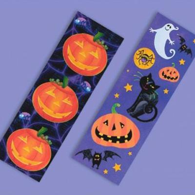 Наклейки 16 х 5 см Забавный Хэллоуин 8 листовНаклейки 16 х 5 см Забавный Хэллоуин 8 листов