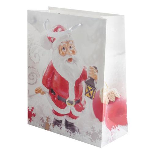 Пакет подарочный 26 х 32 х 12 Дед Мороз