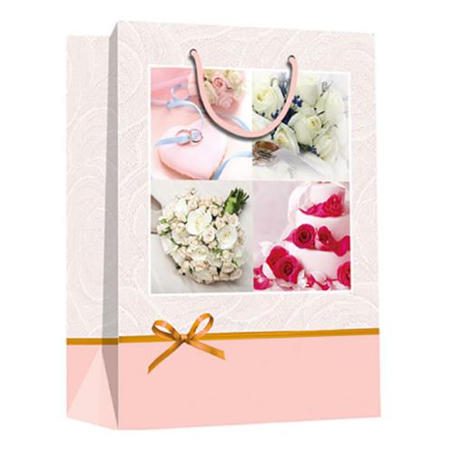 Пакет подарочный 26 х 32 х 12 С Днем Свадьбы