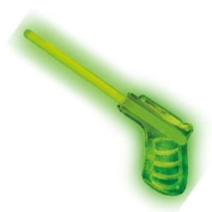 Пистолет светящийся зеленый