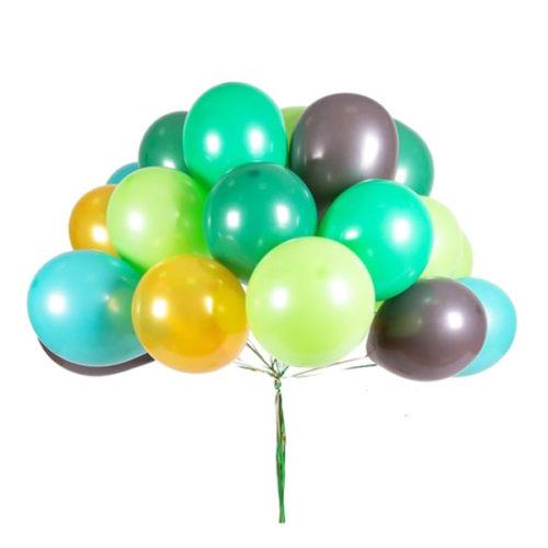 Связка из 25 воздушных шаров Хаки