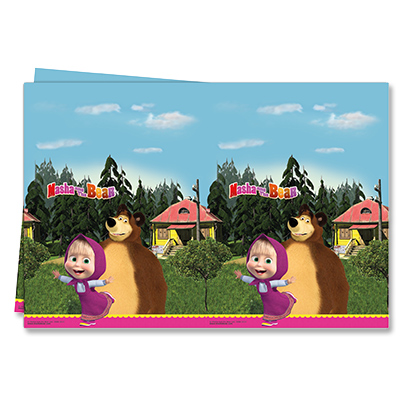 Скатерть Маша и Медведь 120 х 180 см