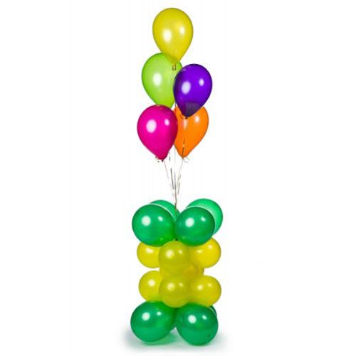 Стойка со связкой воздушных шаров