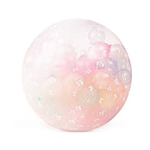 Шар сюрприз с шарами большой в нежных тонах