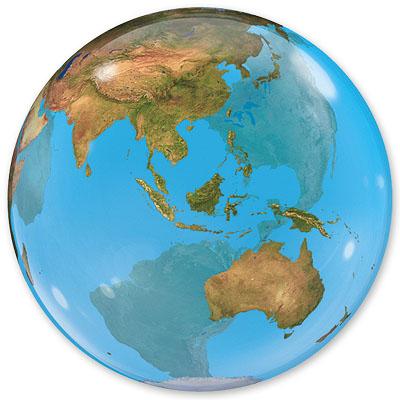 Шар 56 см Сфера Планета Земля