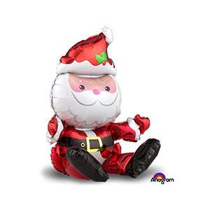 Шар 81 см Фигура Санта сидящий