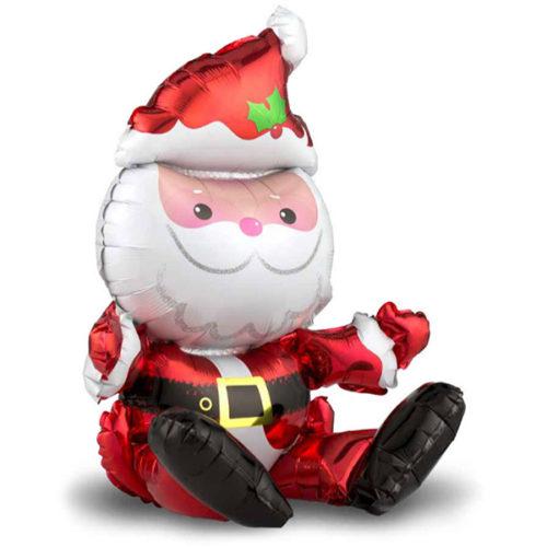 Шар 51 см Фигура Санта Клаус