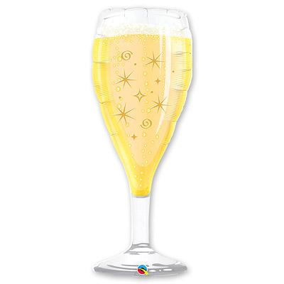 Шар 99 см Фигура Бокал шампанского