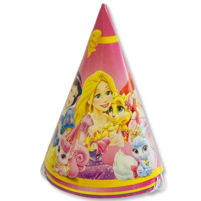 Колпачки Принцессы 6 штук