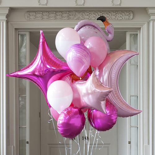 Комплект из шаров Фламинго