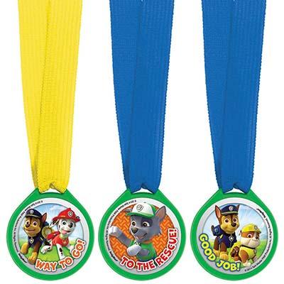 Медали Щенячий Патруль 12 штук