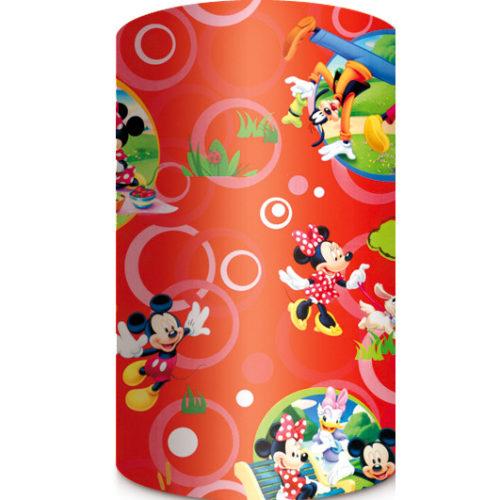Подарочная бумага 70 х 20 см Микки Маус и друзья Красная