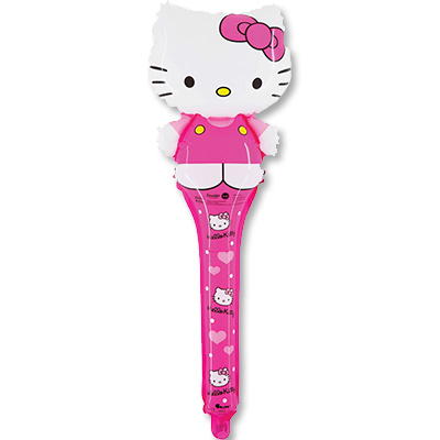 Шар 36 см Мини-фигура SHAKE Hello Kitty