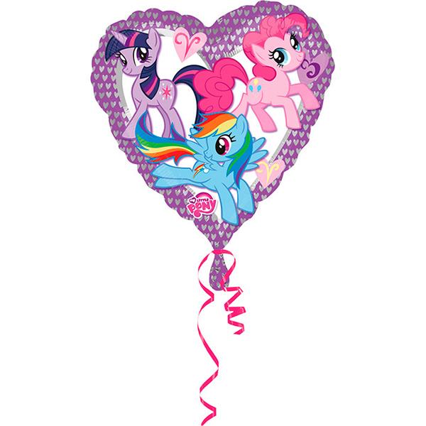 Шар 46 см Сердце Моя маленькая Пони