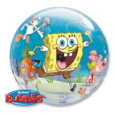 Шар 56 см bubble Губка Боб