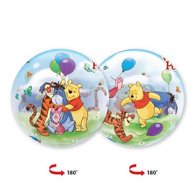 Шар 56 см bubble Disney Винни и друзья