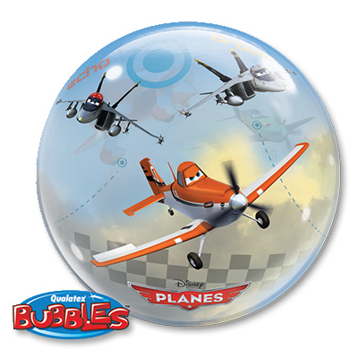 Шар 56 см bubble Disney Самолеты