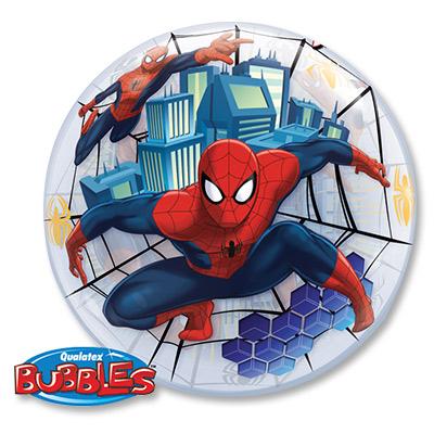 Шар 56 см bubble Marvel Человек Паук