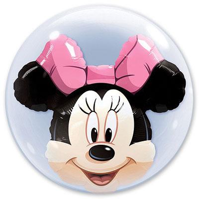 Шар 61 см BUBBLE ИНСАЙДЕР Disney Минни Маус