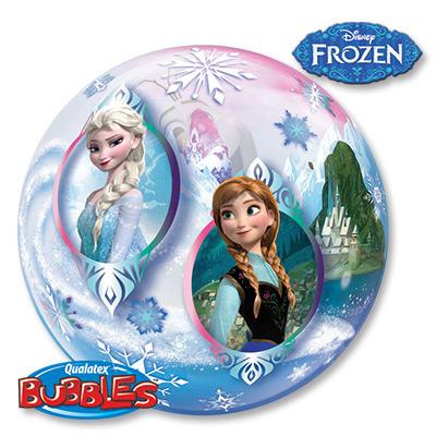 Шар BUBBLE 56 см Disney Холодное сердце