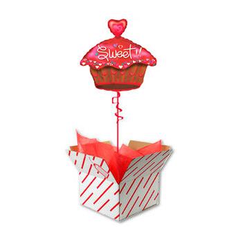 Коробка сюрприз с шаром Кексом Любви